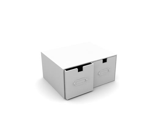 白模收纳箱收纳筐3D模型【ID:315360217】