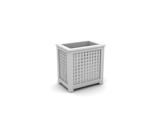 白模收纳箱收纳筐3D模型【ID:315376276】