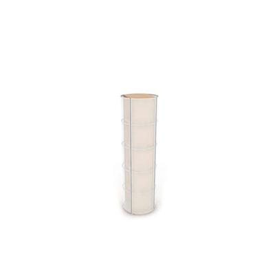 黄色塑料收纳箱收纳筐3D模型【ID:315408269】