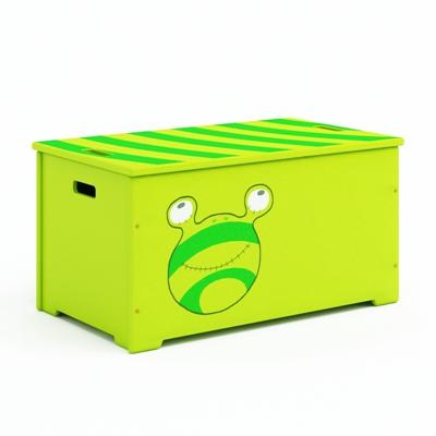 绿色塑料收纳箱收纳筐3D模型【ID:315436253】