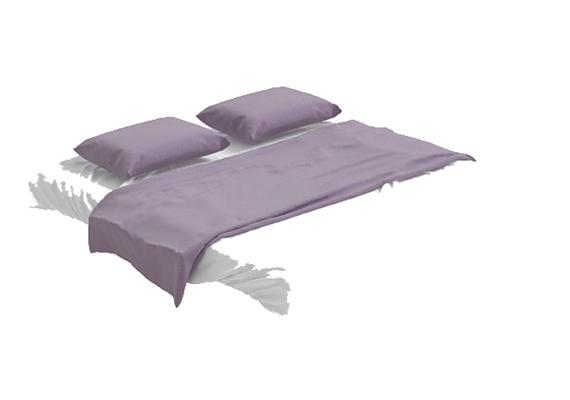 床具组合43D模型【ID:316937514】