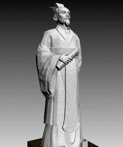 雕塑33D模型【ID:316951846】
