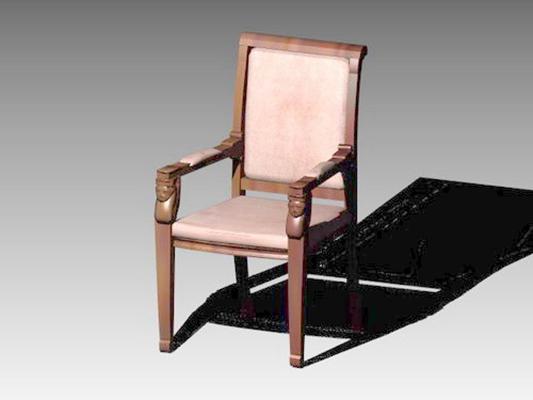 扶手椅1023D模型【ID:316982497】