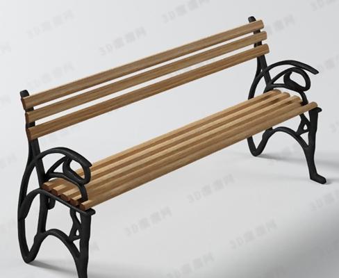 户外椅153D模型【ID:317025333】