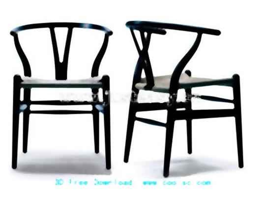餐椅3333D模型【ID:317027086】