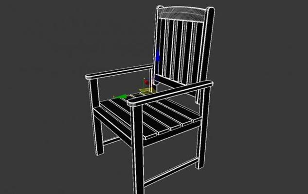 扶手椅433D模型【ID:317032499】