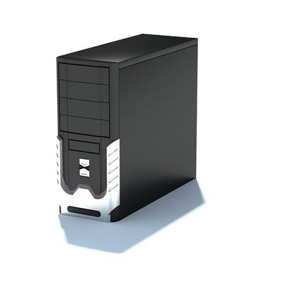 电脑主机53D模型【ID:317080416】