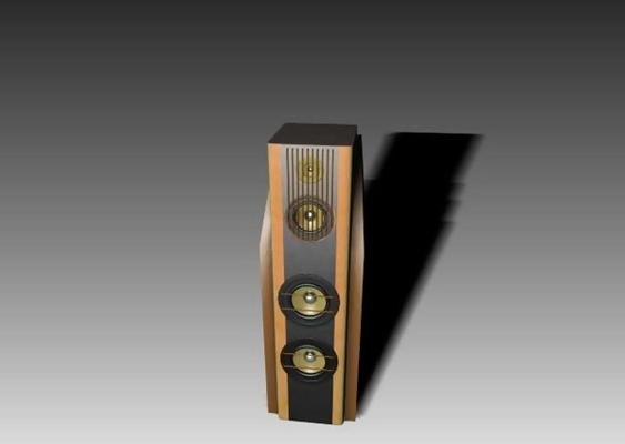 音响43D模型【ID:317111102】
