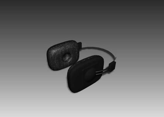 耳机13D模型【ID:317120756】