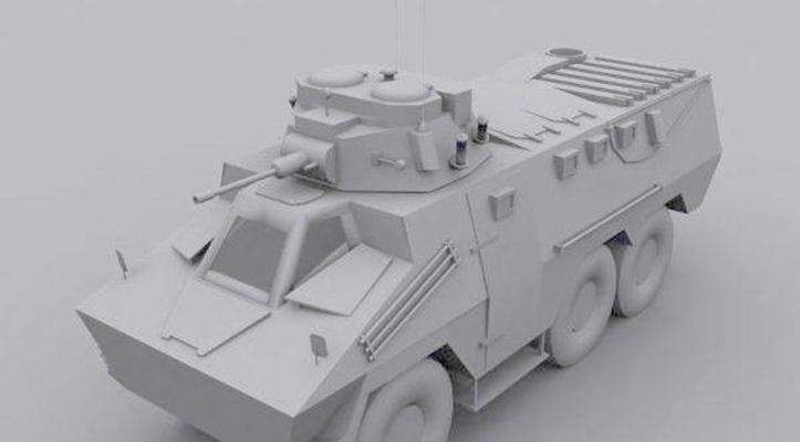 坦克33D模型【ID:317163186】