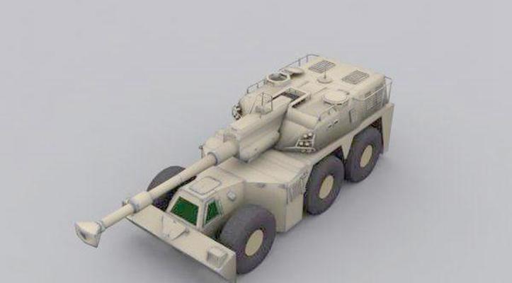 坦克43D模型【ID:317163189】
