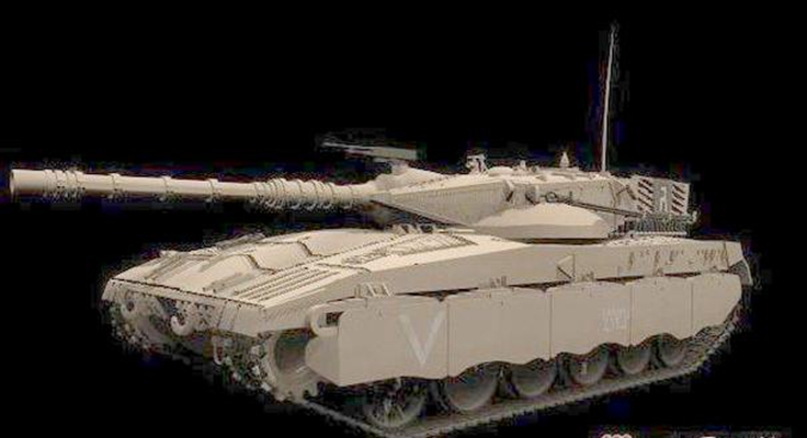 坦克53D模型【ID:317163191】