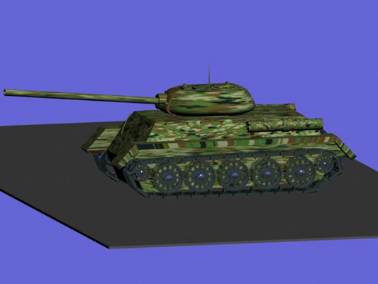 坦克63D模型【ID:317163194】