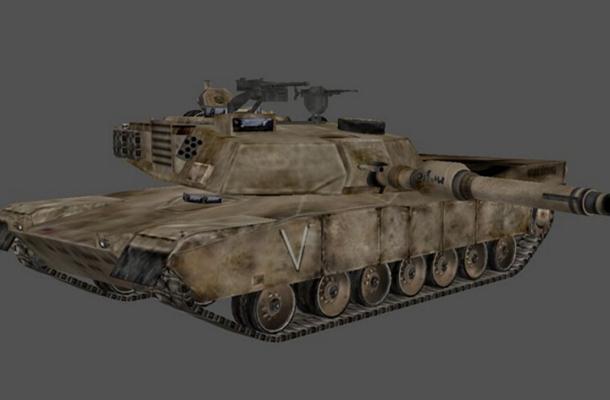 坦克93D模型【ID:317164102】