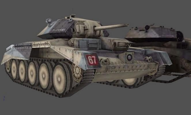 坦克103D模型【ID:317164105】