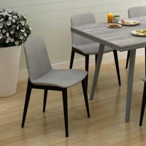 餐椅13D模型【ID:317239099】