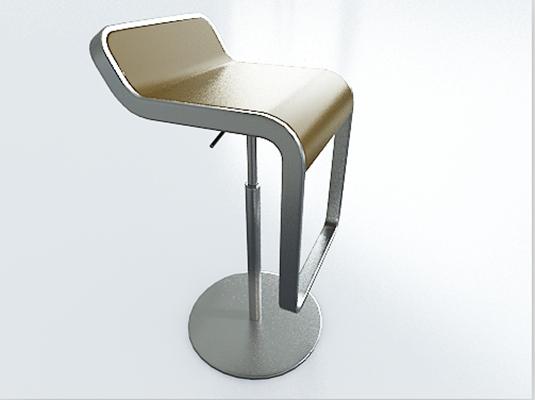 吧椅13D模型【ID:317247118】