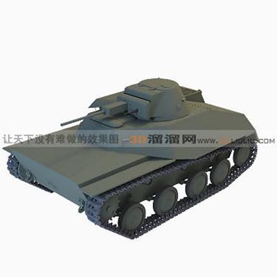 坦克13D模型【ID:317257150】