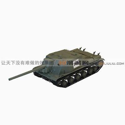 坦克33D模型【ID:317257155】