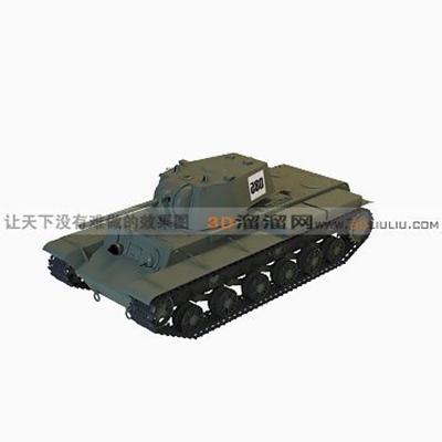 坦克43D模型【ID:317257156】