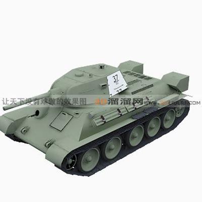 坦克53D模型【ID:317257157】