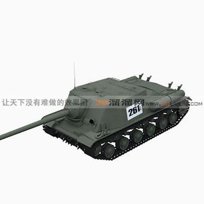 坦克73D模型【ID:317257171】