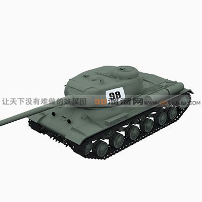 坦克113D模型【ID:317257193】
