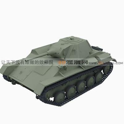 坦克163D模型【ID:317258105】