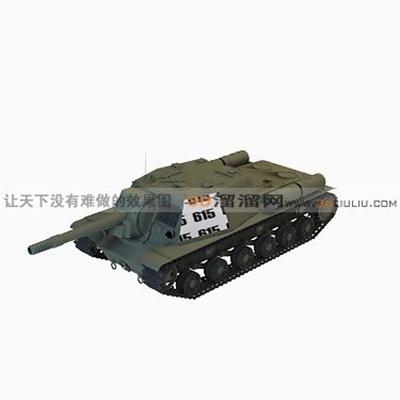 坦克183D模型【ID:317258111】