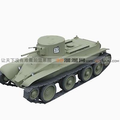 坦克223D模型【ID:317258124】