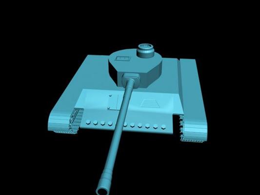 坦克233D模型【ID:317258126】