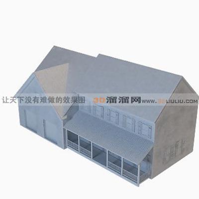 多层住宅73D模型【ID:317274885】