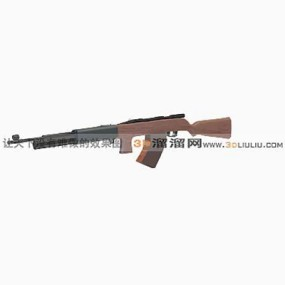 枪13D模型【ID:317310532】