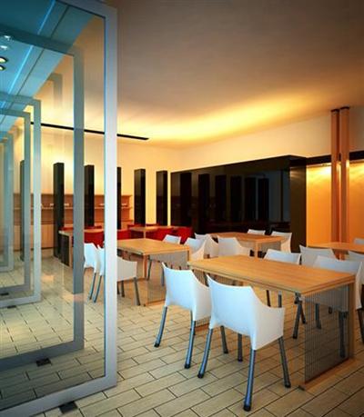 茶餐厅13D模型【ID:317336192】