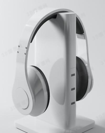 耳机23D模型【ID:317349716】