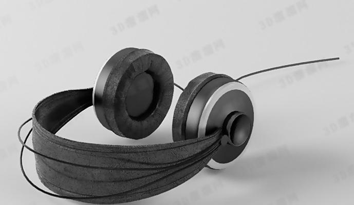 耳机33D模型【ID:317349723】