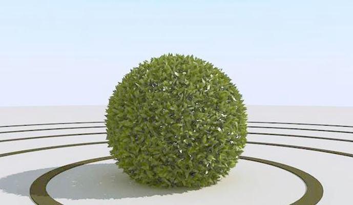 景观树93D模型【ID:317350956】