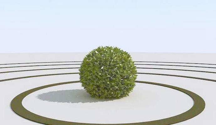 景观树103D模型【ID:317350959】