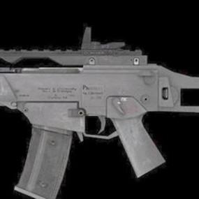 枪23D模型【ID:317369513】