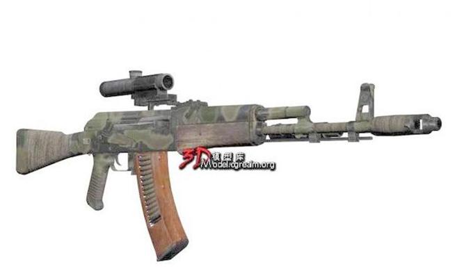 枪33D模型【ID:317369515】