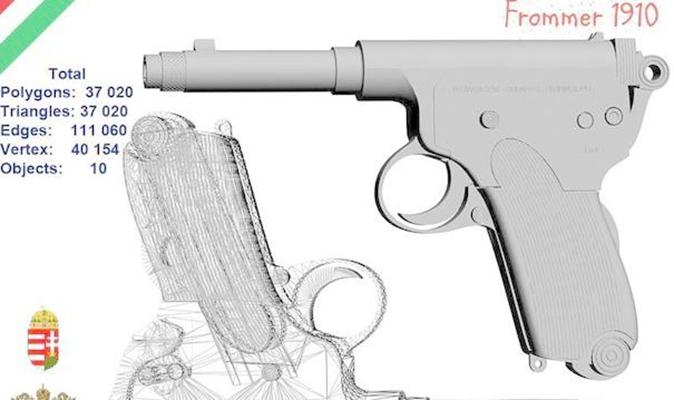 枪73D模型【ID:317369522】