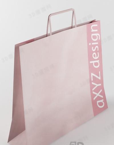 纸袋13D模型【ID:317375346】