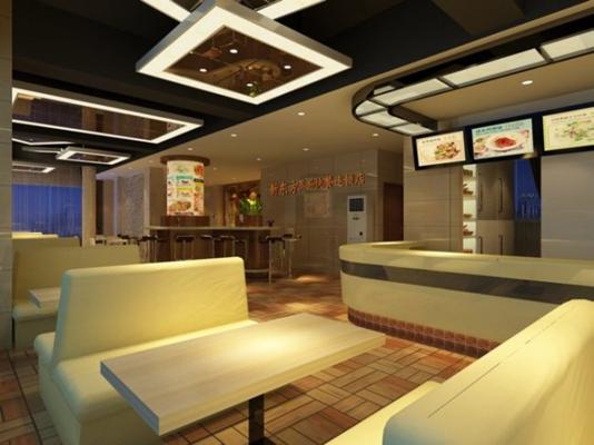 快餐厅123D模型【ID:317386956】
