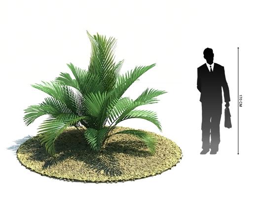 绿色景观树3D模型【ID:317475982】