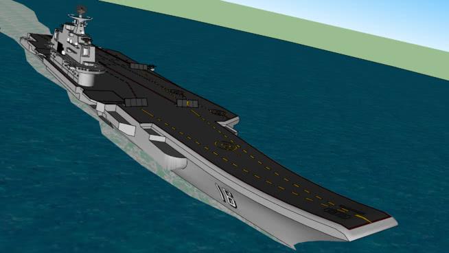 中國遼寧航空母艦(CV-16)SU模型【ID:139600364】