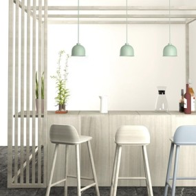 北欧吧椅3D模型【ID:327895141】