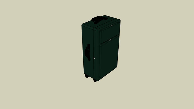 行李箱SU模型【ID:739602207】