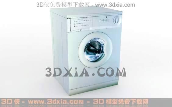 洗衣机-版本3dmax8-43D模型【ID:32024】