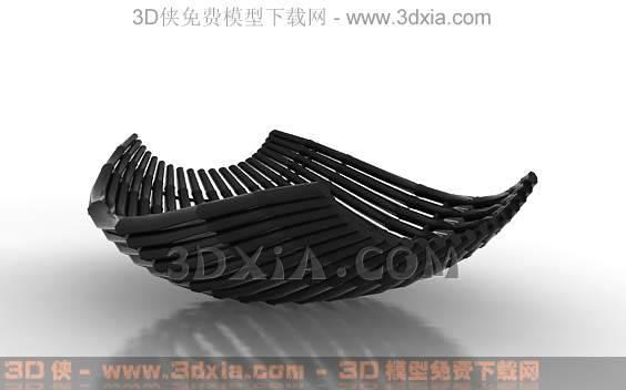 装饰品-版本3dmax8-1023D模型【ID:32047】