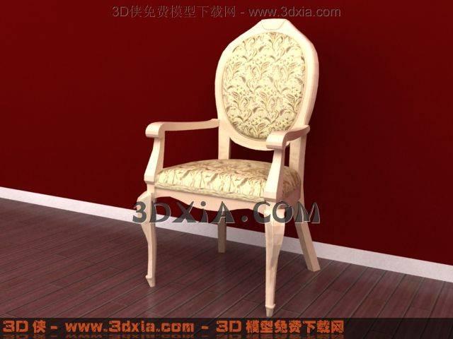椅子下載-b1-使用版本3dmax83D模型【ID:32685】